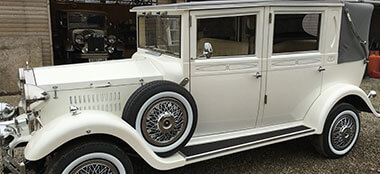 Beauford Open Tourer wedding car