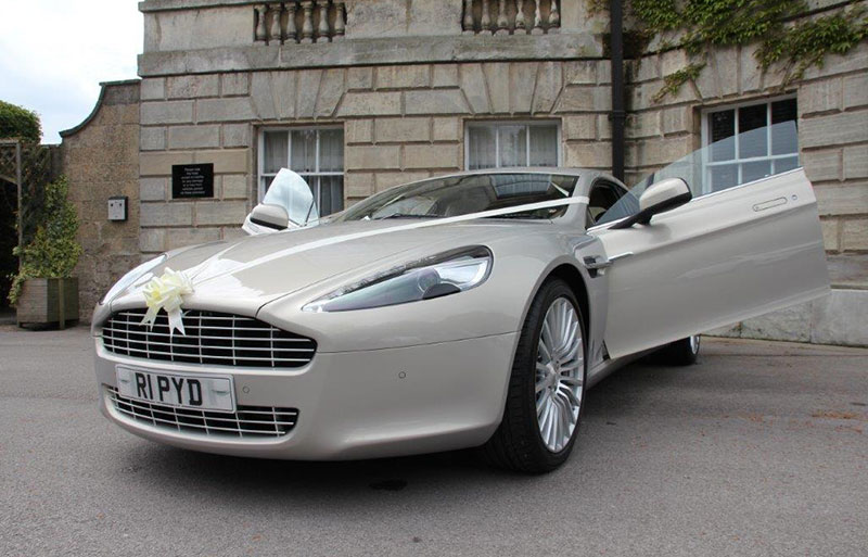 Aston Martin executive wedding car