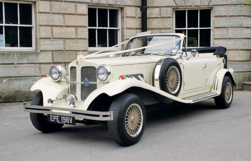 Beauford Wedding Car Vintage Wedding Car Hire