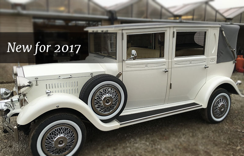 Introducing the Imperial Viscount wedding car