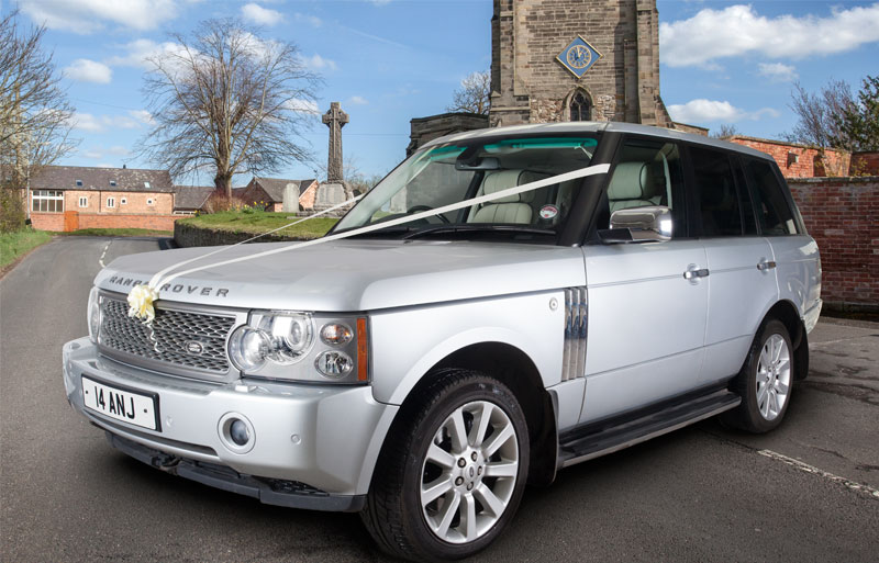 Range Rover Vogue 4x4 executive wedding car