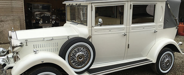 Imperial Viscount Limo wedding car