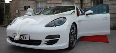 Porsche Panamera Turbo wedding car